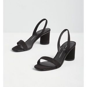 Chinese Laundry sling back black heels